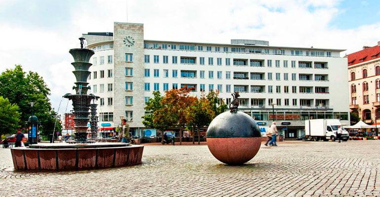 plaza Gustav Adolf de Malmö