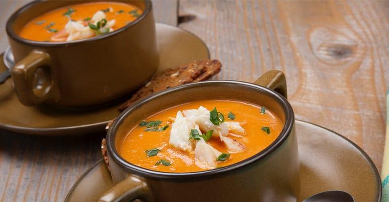Sopa de langosta islandesa, plato que comer en Islandia