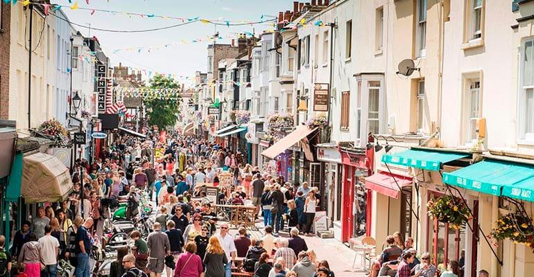 barrio the lanes en Brighton