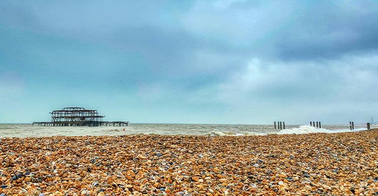 West Pier en Brighton