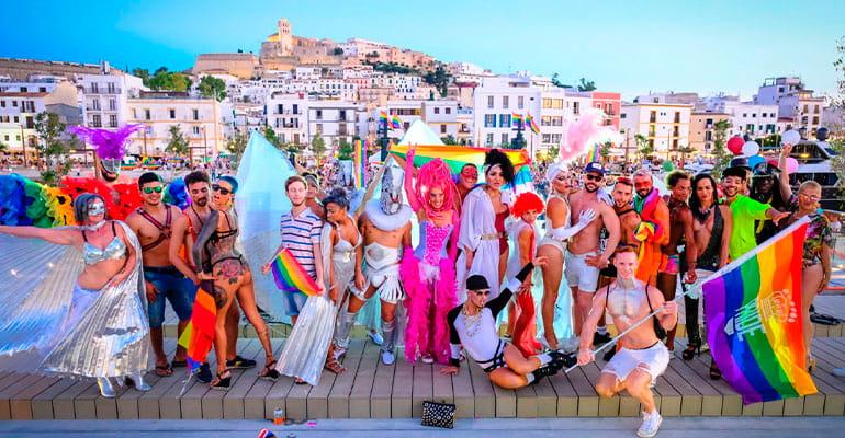 Orgullo LGBT en Ibiza