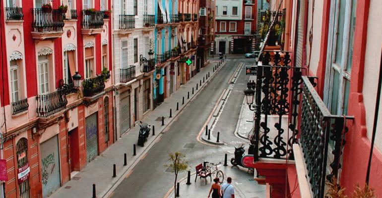 Ruzafa, en Valencia