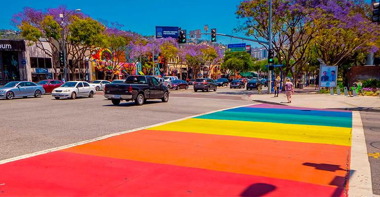 West Hollywood en Estados Unidos