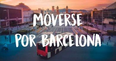 como moverse por Barcelona