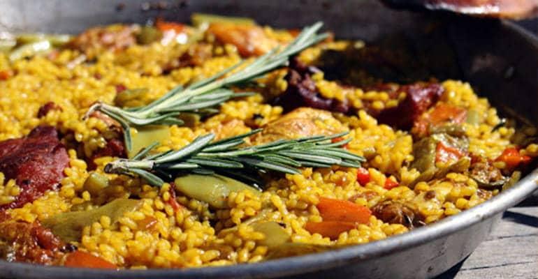paella valenciana, plato que comer en valencia