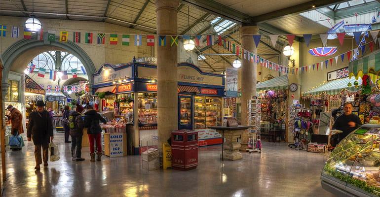 Guildhall Market en Bath