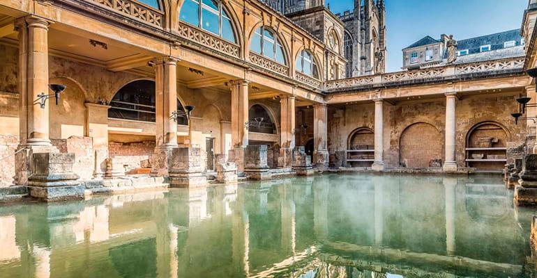 Termas Romanas, lugar que ver en Bath