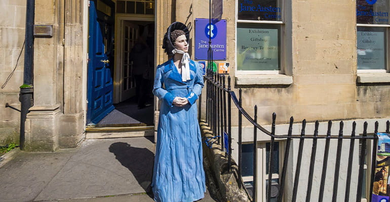 Jane Austen Center, lugar que ver en Bath