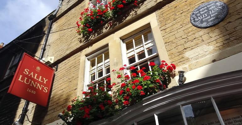 Sally Lunn's, lugar que ver en Bath
