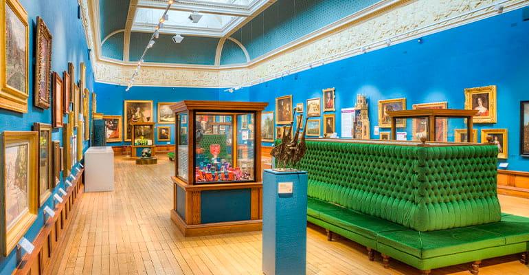Victoria Art Gallery, museo que ver en Bath