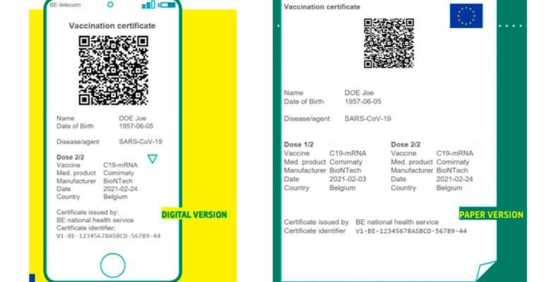 Certificado verde digital de covid