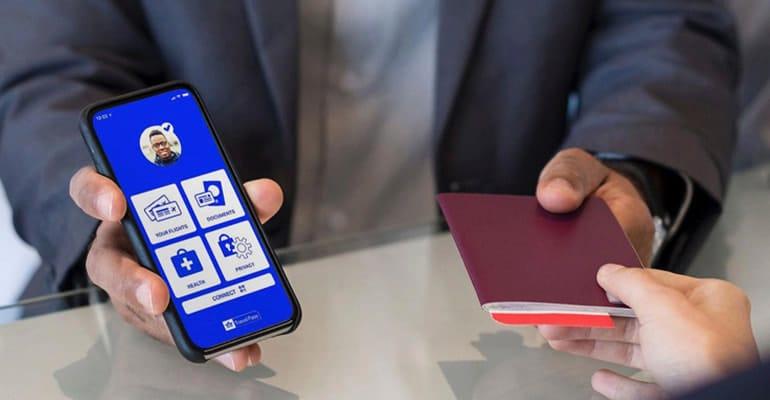 app IATA Travel Pass