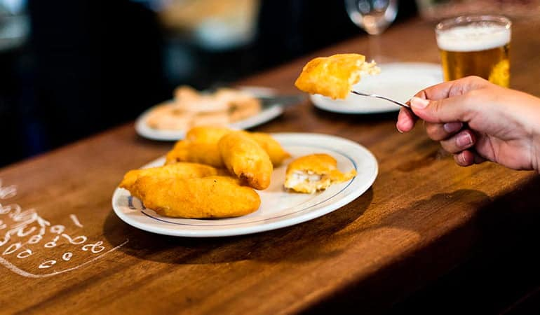 Soldaditos de Pavía, tapa que comer en Madrid