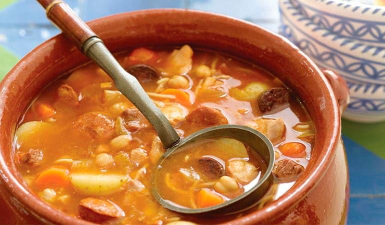 cocido madrileño, un plato que comer en Madrid
