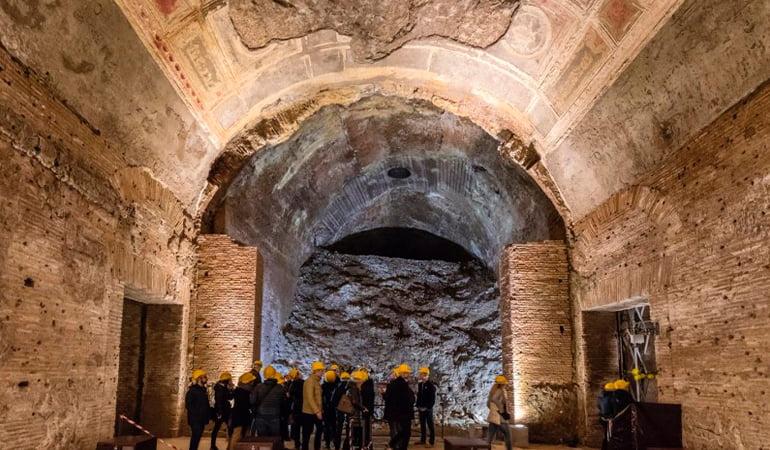 Domus Aurea, palacio de Nerón