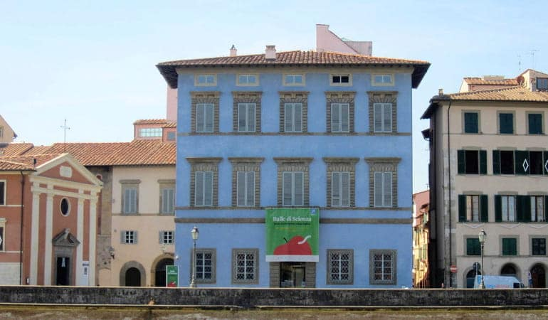Palazzo Blu, uno de los palacios que ver en Pisa