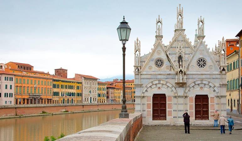 iglesia de Santa Maria della Spina, un lugar que ver en Pisa