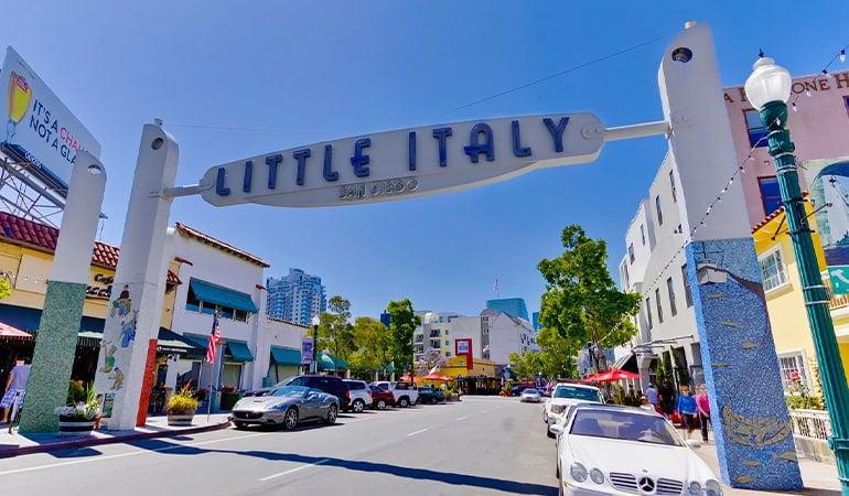 Little Italy, en San Diego