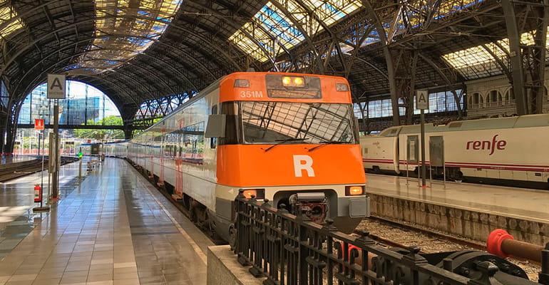 tren cercanias Barcelona