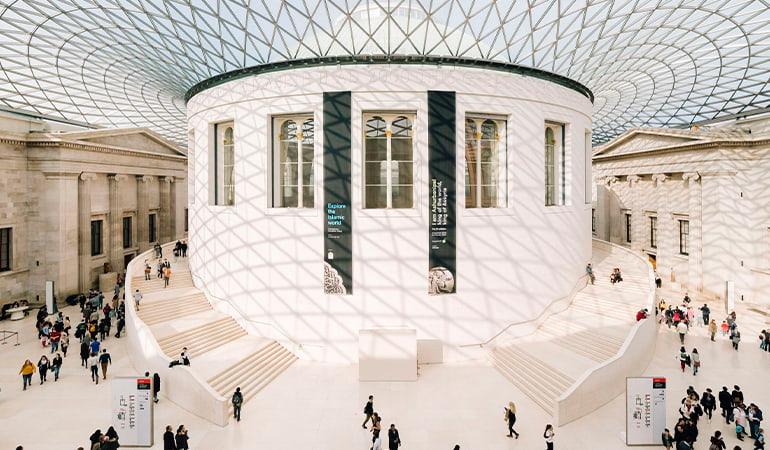 British Museum, uno de los museos de londres