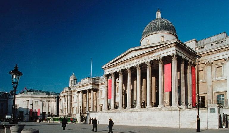 National Gallery, uno de los mejores museos de Londres