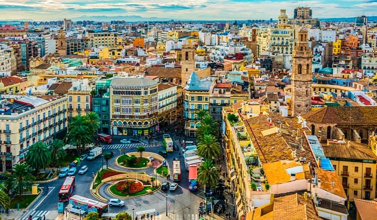 Valencia desde las alturas