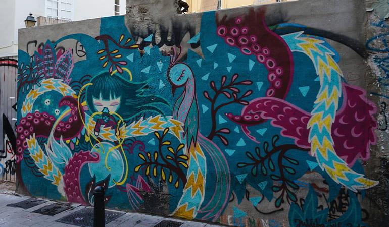 ruta de grafiti por Valencia