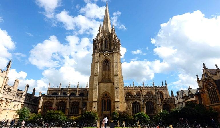 Iglesia de la Virgen María en Oxford