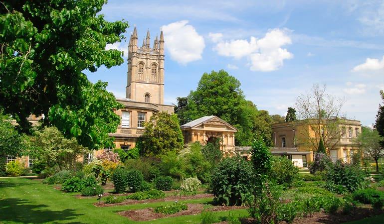 Jardín botánico de la Universidad de Oxford