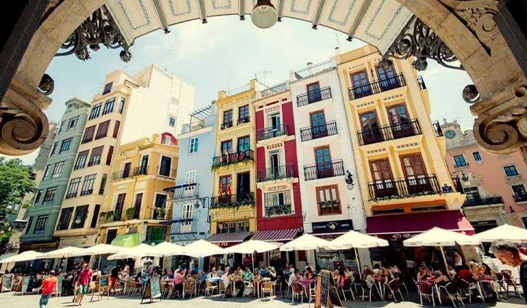el carmen, barrio donde alojarse en Valencia