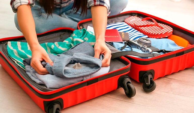 equipaje de cabina rígido
