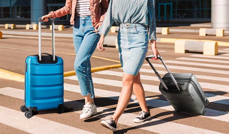 equipaje de cabina con ruedas