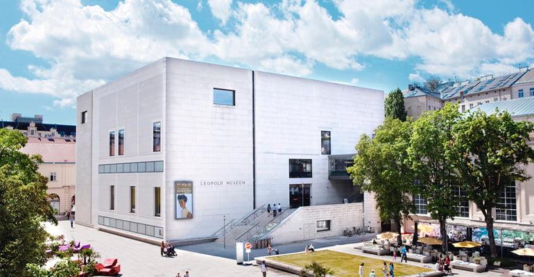 Museo Leopold, uno de los museos de viena