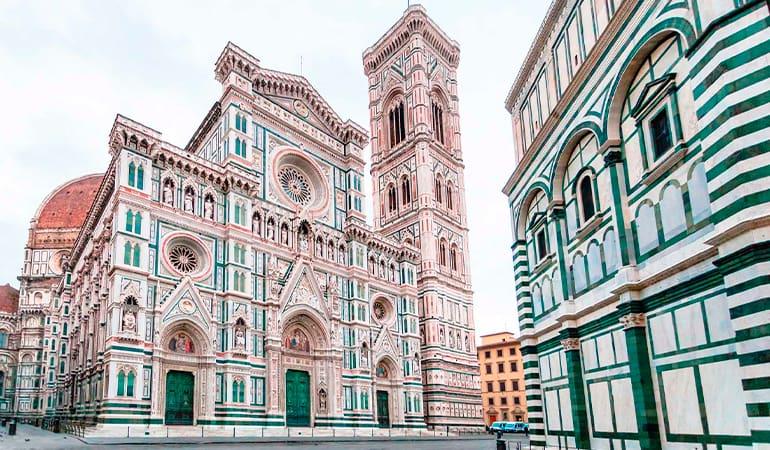 Cattedrale di Santa Maria del Fiore, uno de los lugares que ver en Florencia