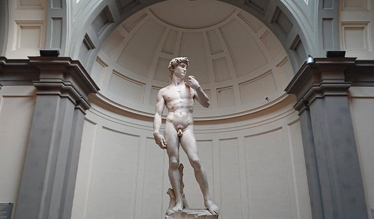 Galleria dell'Accademia, uno de los museos que ver en Florencia