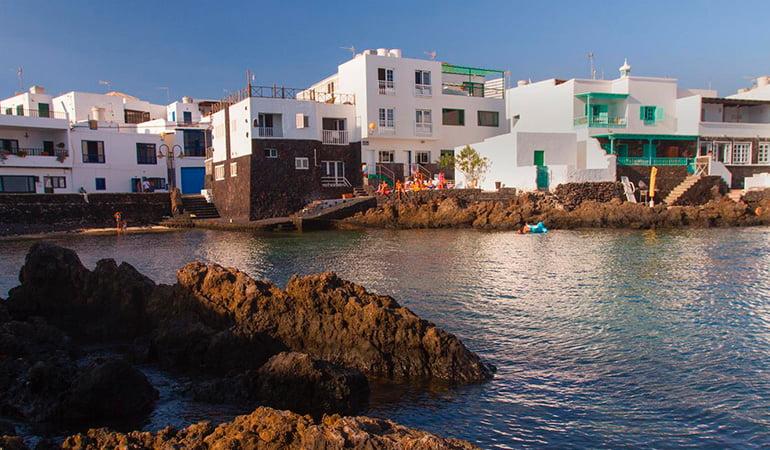 Arrieta, uno de los pueblos de lanzarote costeros