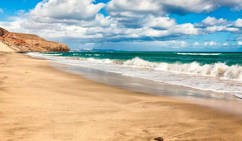 Playa de Esquinzo, una de las playas de Fuerteventura más bonitas