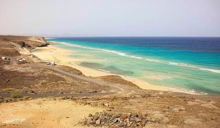 Playa del Mal Nombre, una de las playas de Fuerteventura