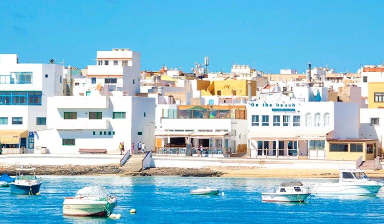 Corralejo, uno de los pueblos que ver en Fuerteventura