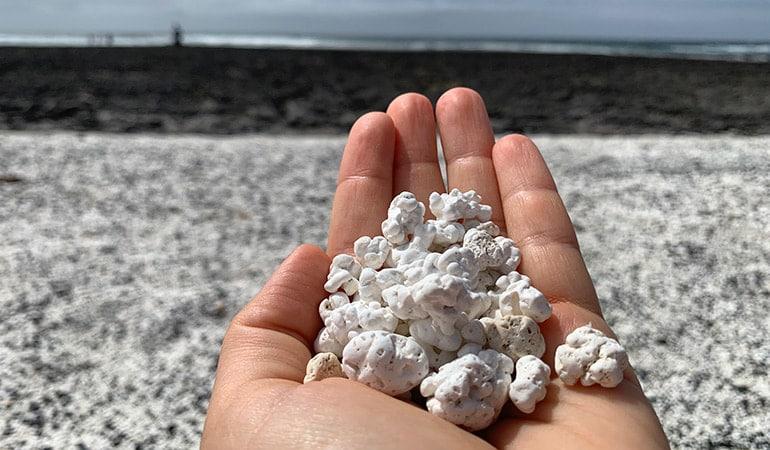 Playa de las Palomitas, Popcorn Beach
