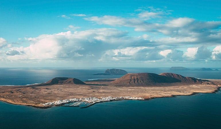 isla de la Graciosa desde Lanzarote