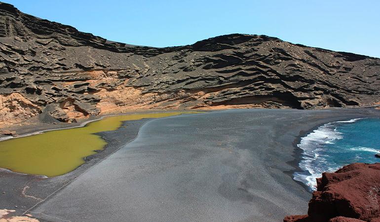 la playa de los ciclos de Lanzarote