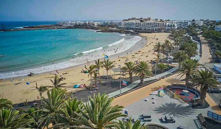 costa teguise, zona donde alojarse en Lanzarote