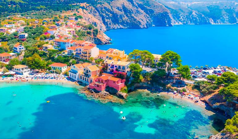 Cefalonia, uno de los destinos del crucero por las Islas Griegas