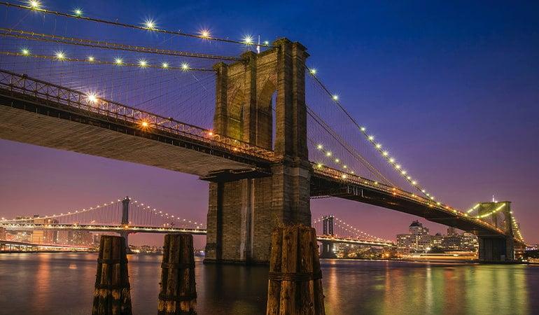 Brooklyn Bridge, uno de los lugares que ver en Brooklyn