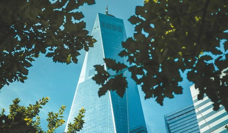 One World Trade Center, uno de los edificios que ver en Manhattan