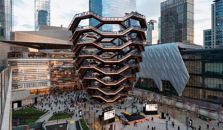 The Vessel, uno de los lugares que ver en Manhattan