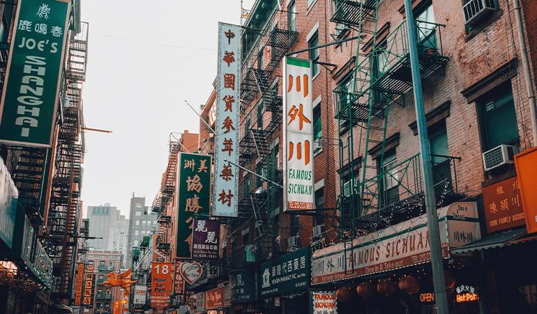 Chinatown, uno de los barrios que ver en Manhattan