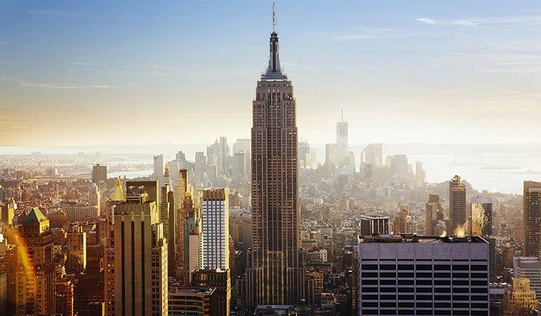 Empire State Building, uno de los lugares que ver en manhattan