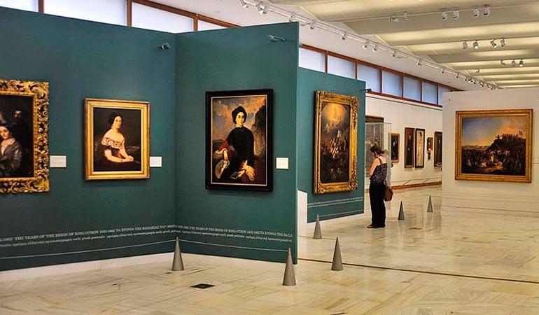 Galería Nacional, uno de los museos de Atenas más interesantes